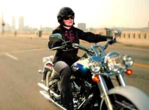 bikerwoman